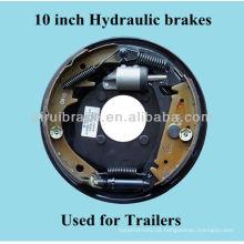 10 polegadas freios hidráulicos para EUA e Oceania mercado