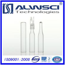 Botella tubular de 150 ml de inserto con envoltura ptfe de silicona