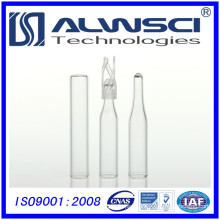 150ml insert vial tubular bottle with silicone ptfe liner