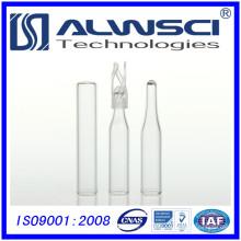 Frasco tubular de frasco de inserção de 150 ml com forro silicone ptfe
