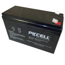 Batterie au plomb scellée 12V 7Ah pour UPS, AGM, alimentation de secours et autre équipement d'éclairage