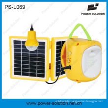 Qualified 4500mAh/6V Solar Lantern with Mobile Phone Charger with Solar Light Bulb for Room