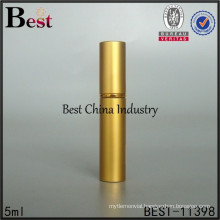 5ml gold luxury mini perfume atomizer, perfume atomizer portable