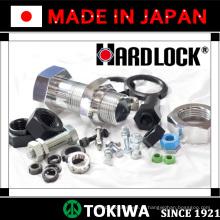 Todos os tipos de parafusos e porcas de alta qualidade com alta taxa de segurança. Feito no Japão. Fabricado por Hardlock & Trusco (parafuso prisioneiro)