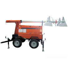 Trailer Light Tower (Elevate by Hydraulic-Operated)