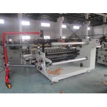 Etiquetas adesivas de corte e rebobinamento / máquina de filme de alumínio