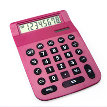 8 Digits A5 Size Large Office Desktop Calculator