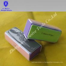 Красота пилочка для ногтей с 4-х сторон абразив для полировки ногтей