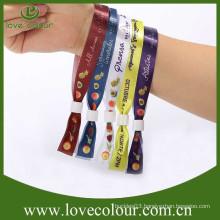 Hot sale handicraft festival wristband with custom logo
