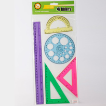 School Math Ruler Set