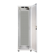 Integrated telecommunications system cabinet indoors