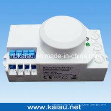 Interruptor de sensor de movimento de microondas Dimmable de 1-10V