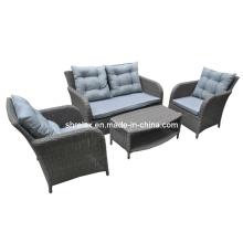 Garden Rattan Chair Lounge Set Outdoor Wicker Patio Furniture