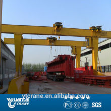 China top single girder gantry crane manufacturer 10t