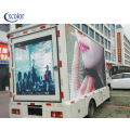 Moving Advertising Screen 3d Video Truck Led Display