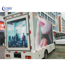 Pantalla publicitaria en movimiento camion 3d video led display