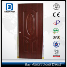 Porta de PVC de MDF Interior madeira mogno