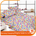 100% polyester en microfibres ensembles de literie imprimés pour textile domestique