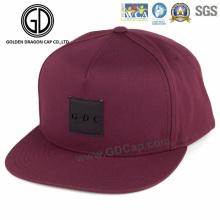 2016 nuevo diseño de la pantalla de impresión Snapback Cap con logotipo personalizado