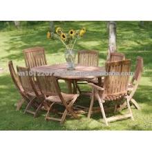 Massivholz Outdoor / Gartenmöbel Set