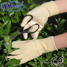 NMSAFETY flower house use clear nitrile shell labour gloves light weight