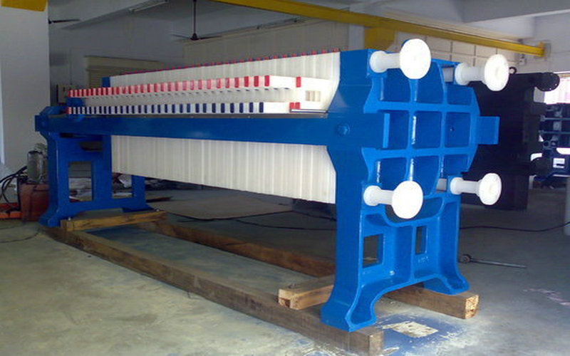Sugar Syrup Chamber Membrane Filter Press 1