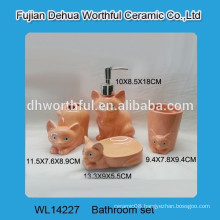High quality wholesale ceramic bathroom set