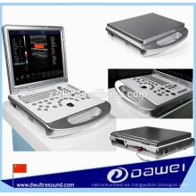DW-C60PLUS escáner de ultrasonido de mano y precio portátil de ultrasonido y escáner de ultrasonido Doppler color portátil