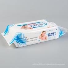 OEM Biodegradable Bamboo Baby toallitas limpiadoras