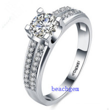 Hot Sell Jewelry- Cubic Zirconia Brass Rings (R0836)
