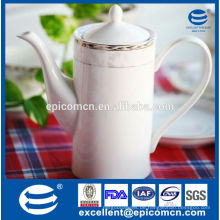 Weißer Porzellan Teekanne Großhandel