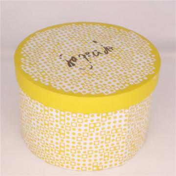 Diseño de caja de pastel de boda de papel de impresión personalizada