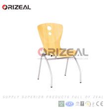 Silla de madera contrachapada OZ-1040- [catálogo]
