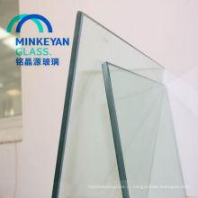 Горячая шелковой ширмы продажи здания 6.38 мм безопасности Прокатанное стекло ткань для стены перегородки