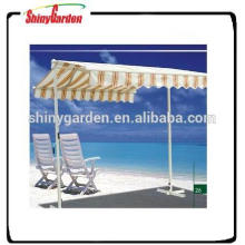Large retractable awning 4x4 free standing balcony awning