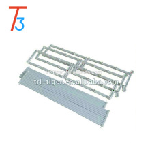 12 pairs space saving hang door Stainless steel shoe rack