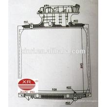 Radiador europeo de GOLDEN SUN radiador de aluminio para camiones para MAN TGA (02-) 81061016482 16511 16519 10058 16522