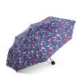 Guarda-chuva de dobramento feito sob encomenda relativo à promoção Windproof forte com logotipo