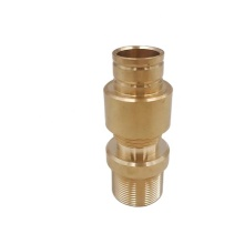 Custom CNC Parts Brass Pipe Connectors