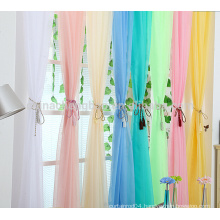 wholesale pretty doule color sheer curtain