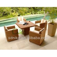 Gartenmöbel, Speisesaal