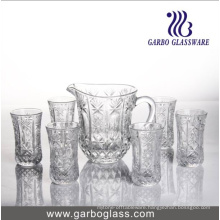 7PCS Glass Water Drinking Set GB12026tyz