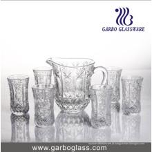 Água de vidro 7PCS que bebe o jogo GB12026tyz
