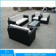 De Bonne Qualité Ensemble de sofa sectionnel de rotin à extrémité élevé de vente chaude