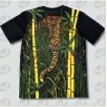 Polyester-Baumwoll-Kurzarm-Sicherheits-hohe Männer-T-Shirt