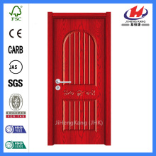 JHK-P10 fancy molding pvc veneer pvc door