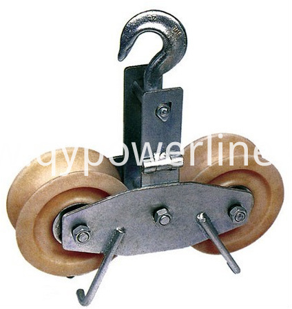 Tandem Nylon Sheave Stringing Pulley Block