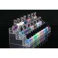 Suporte de exposição de acrílico para esmaltes de acrílico, Rack de acrílico pop