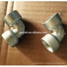 Accesorios de tubería de acero inoxidable forjado OEM con alta calidad