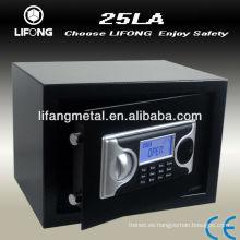 Armario seguro del armario digital, pantalla LCD